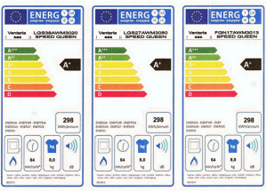 Classe Energetica per le Asciugatrici a gas