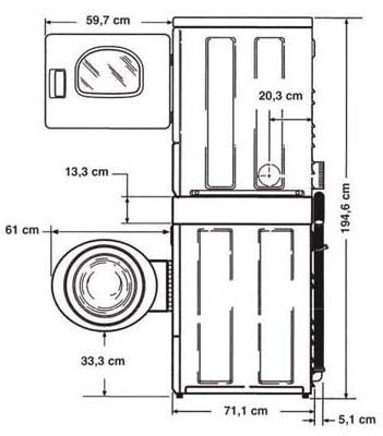 Colonna Lavatrice e Asciugatrice | Vento d\'America